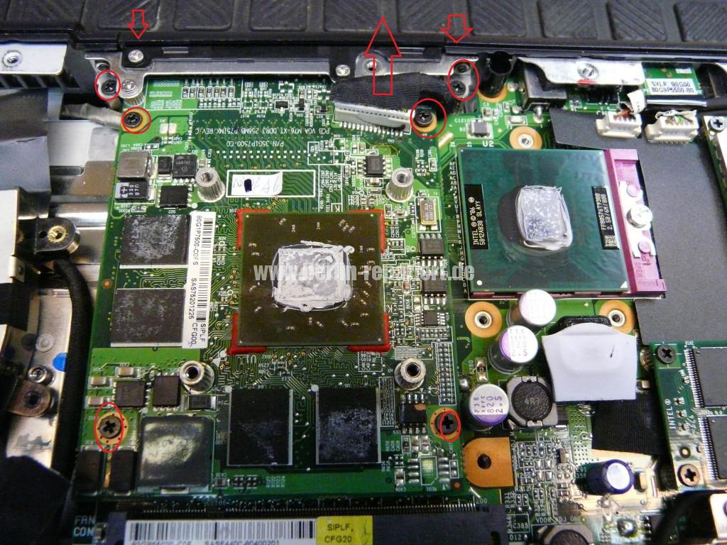 Fujitsu Siemens Amilo Xi2550, Startet nicht, kein Bild (8)