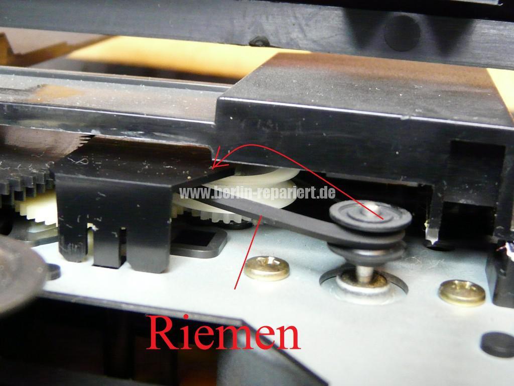 Harman Kardon HD7325, Laufwerk Klemmt (5)