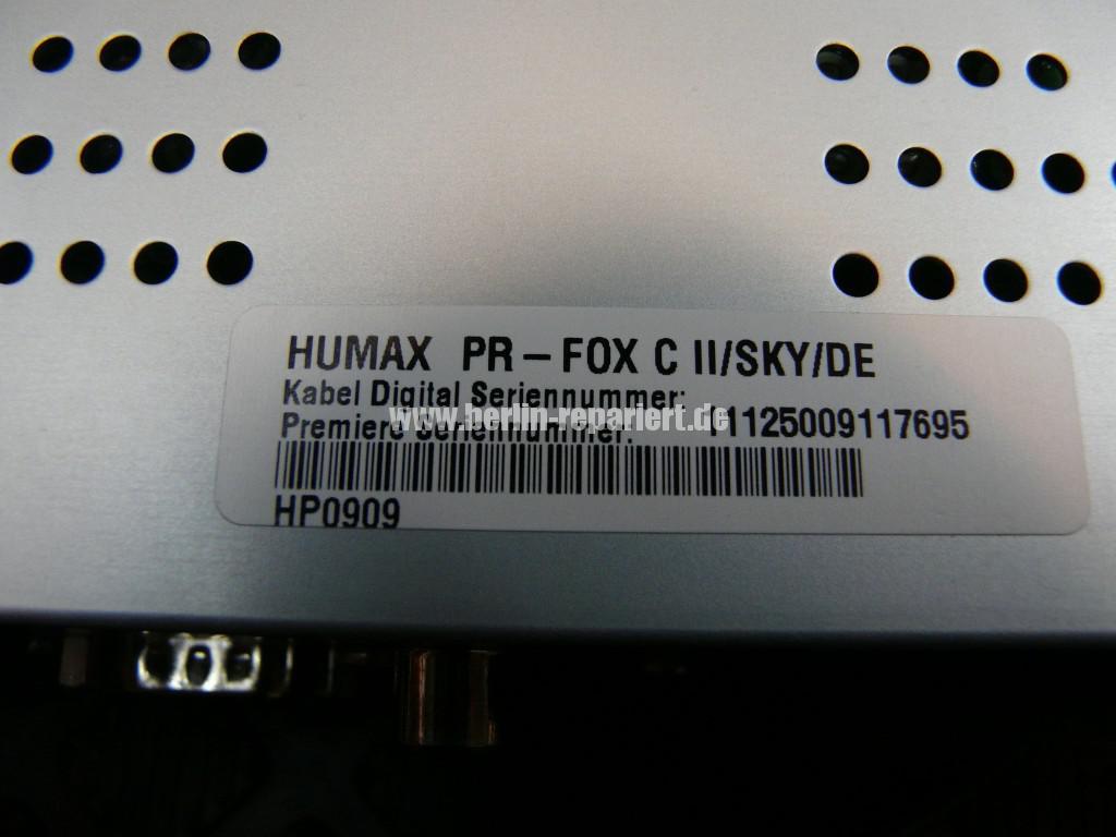 Humax SKY PR-FOX, Störung (6)