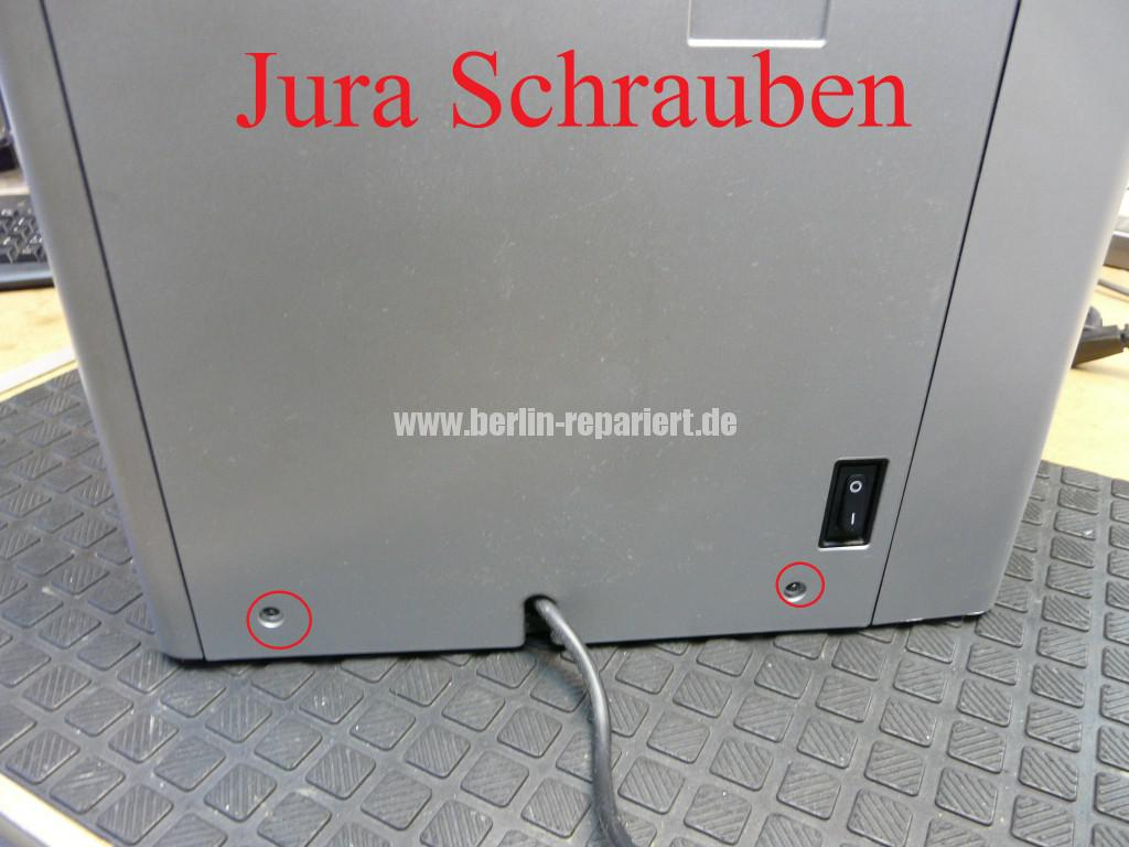 Jura Impressa S9, zeigt Schale fehlt (2)