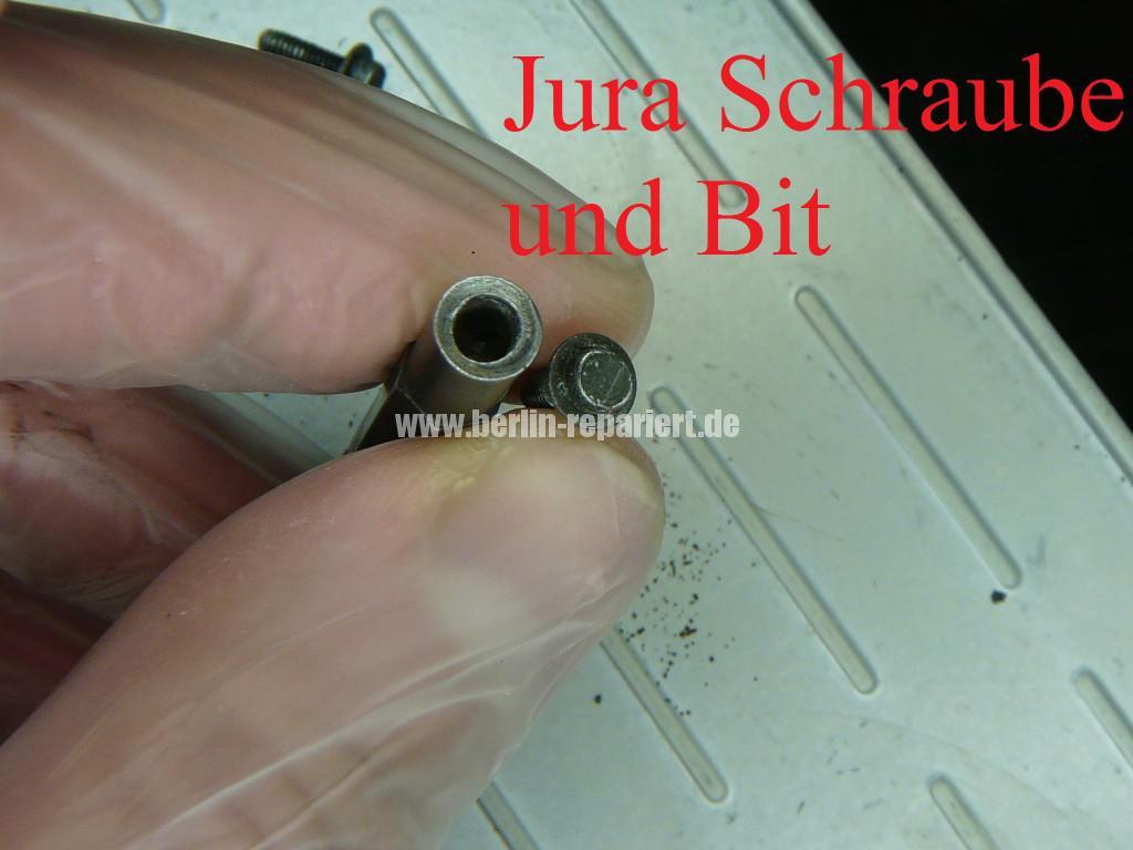 Jura Nespresso N80, geht aus (4)
