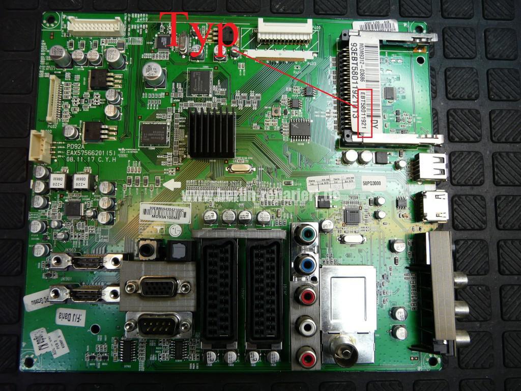 LG 50PQ3000, EBT58011921, Streifen in Bild(7)
