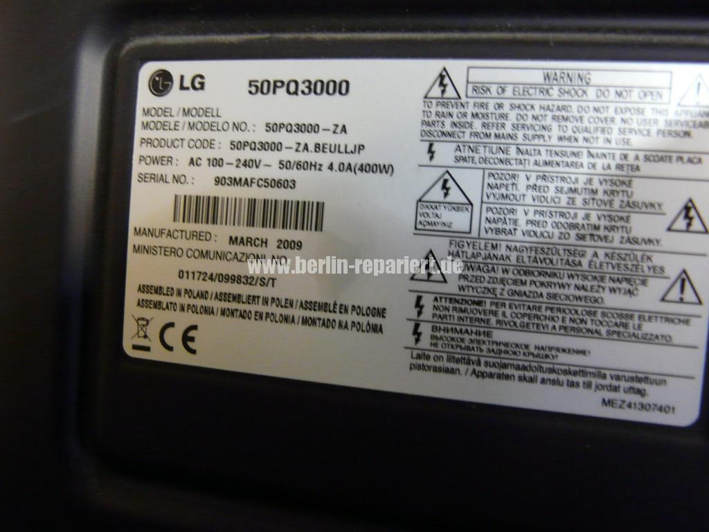 LG 50PQ3000, EBT58011921, Streifen in Bild(8)