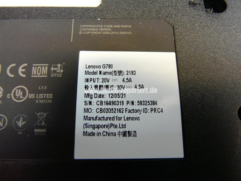 Lenovo G780, geht nicht an (7)