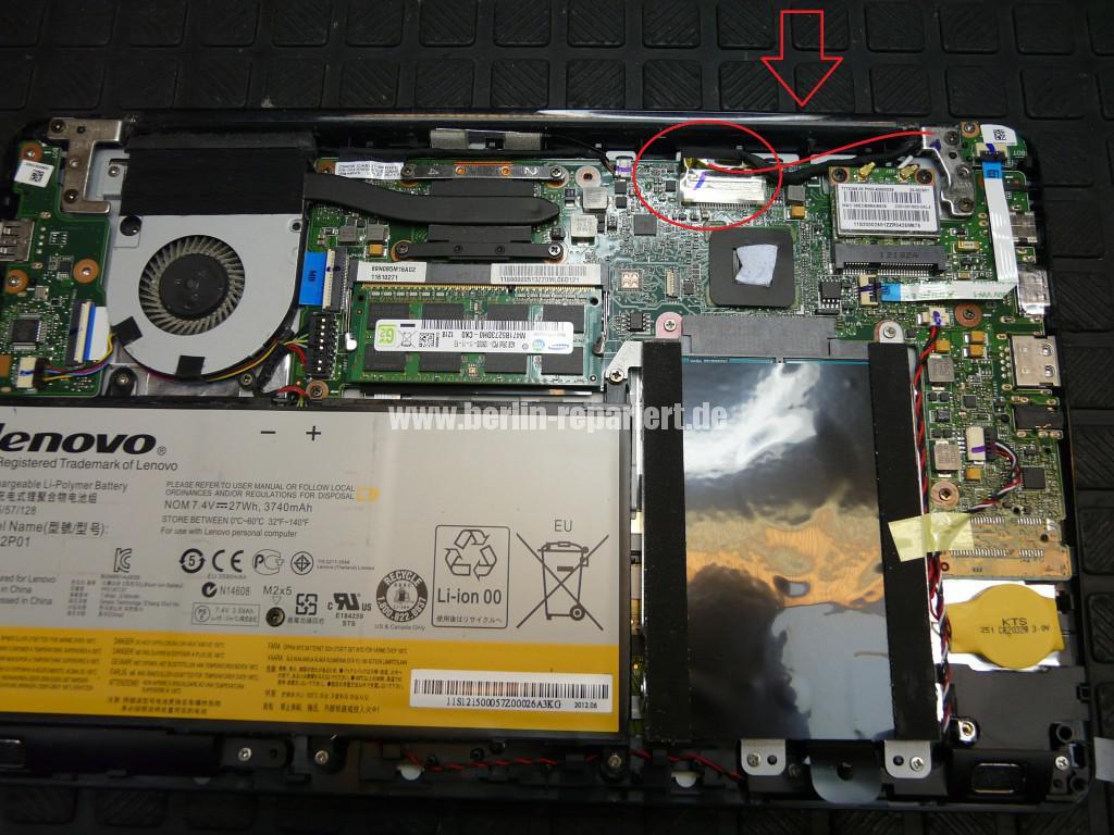 Lenovo IdeaPad S206, kein Bild (7)