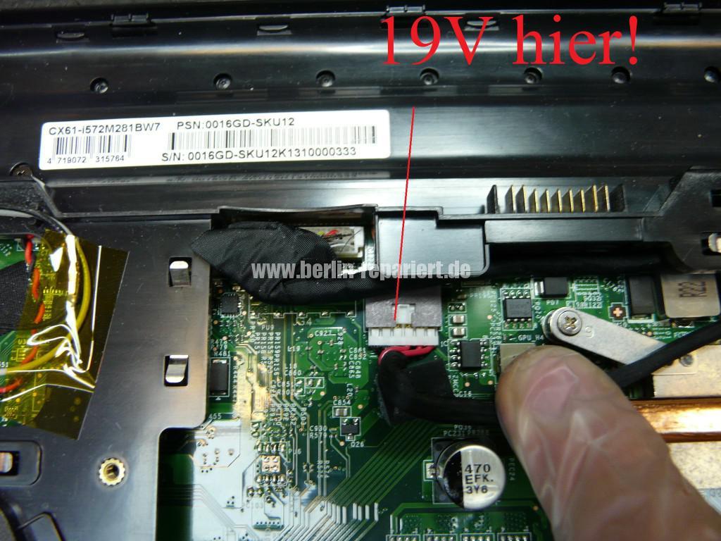 MSI MS-16GD, Akku wird nicht geladen, kein Strom über den Externen Netzteil (3)
