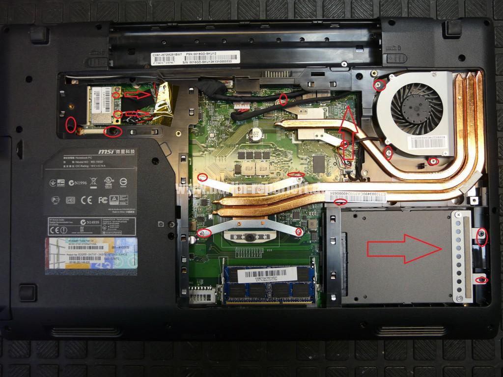 MSI MS-16GD, Akku wird nicht geladen, kein Strom über den Externen Netzteil (5)