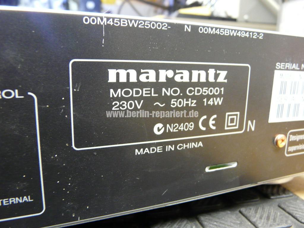 Maranz CD5001, keine Funktion nur St-By (14)