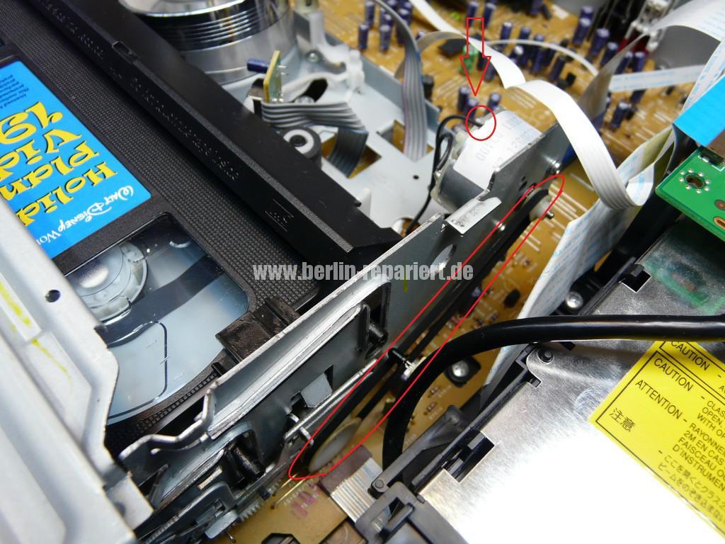 Medion MD 83425, Kassette kommt nicht mehr raus (3)