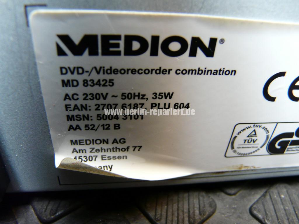 Medion MD 83425, Kassette kommt nicht mehr raus (7)