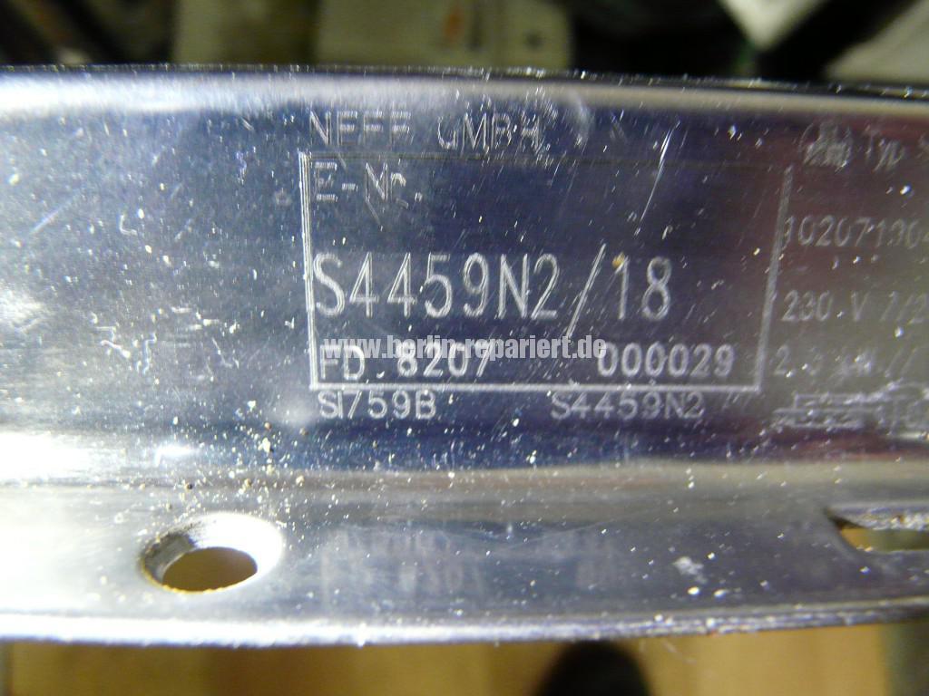 NEFF S4459N, zieht kein Wasser, Heizt nicht, uvm (11)