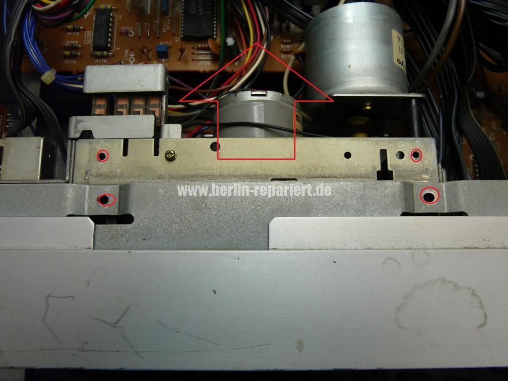 ONKYO TA-2250, Laufwerk Defekt (4)