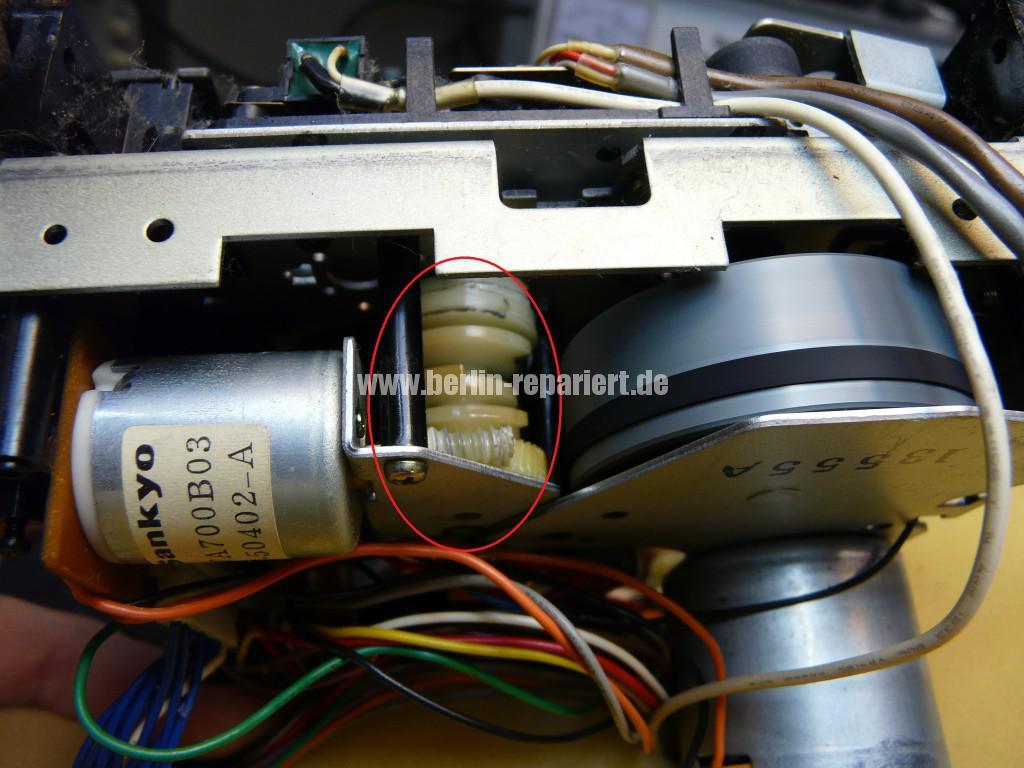 ONKYO TA-2250, Laufwerk Defekt (8)