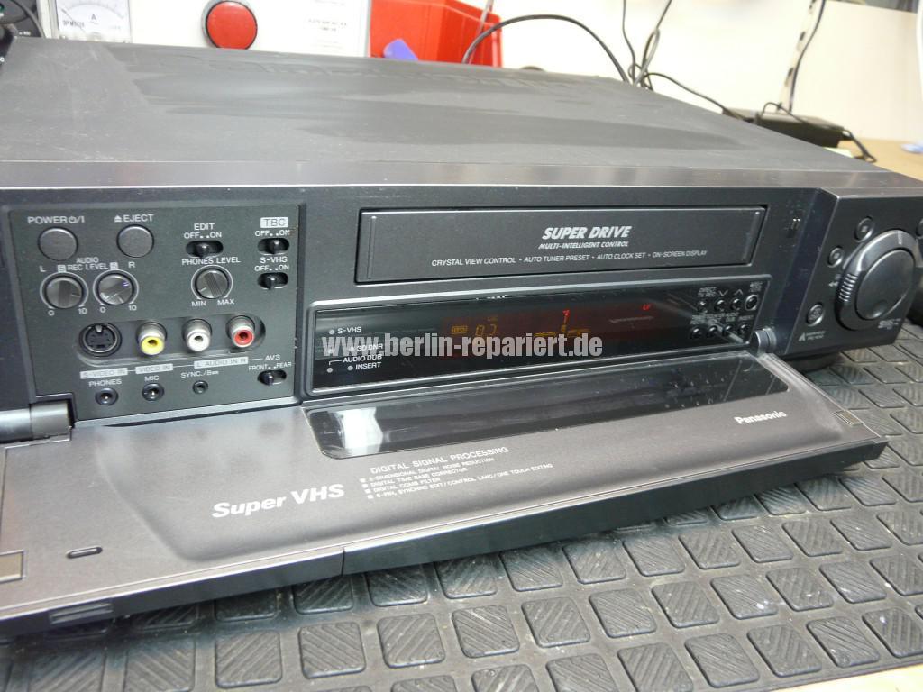 Panasonic NV-HS950EG, Video Kopf Reinigen (2)