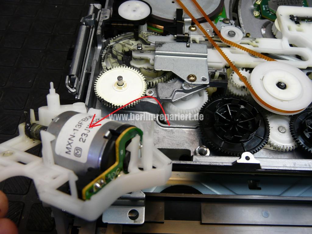 Panasonik Error F03 F04, K Meschanik, Lademotor Reparieren (6)