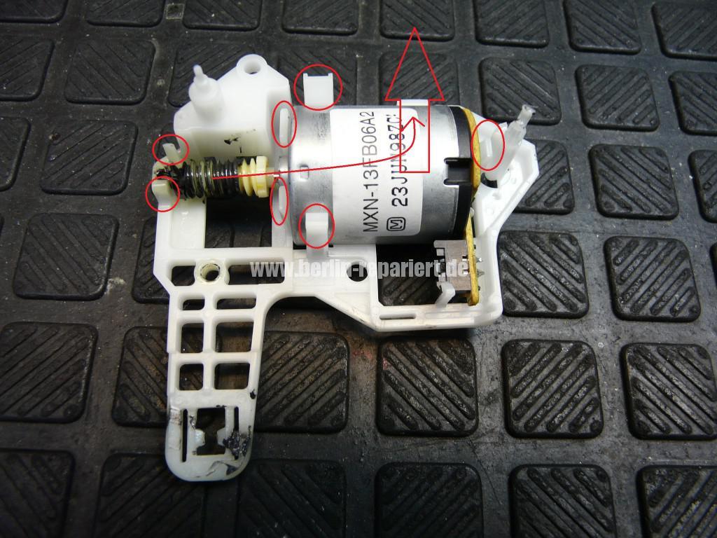 Panasonik Error F03 F04, K Meschanik, Lademotor Reparieren (7)