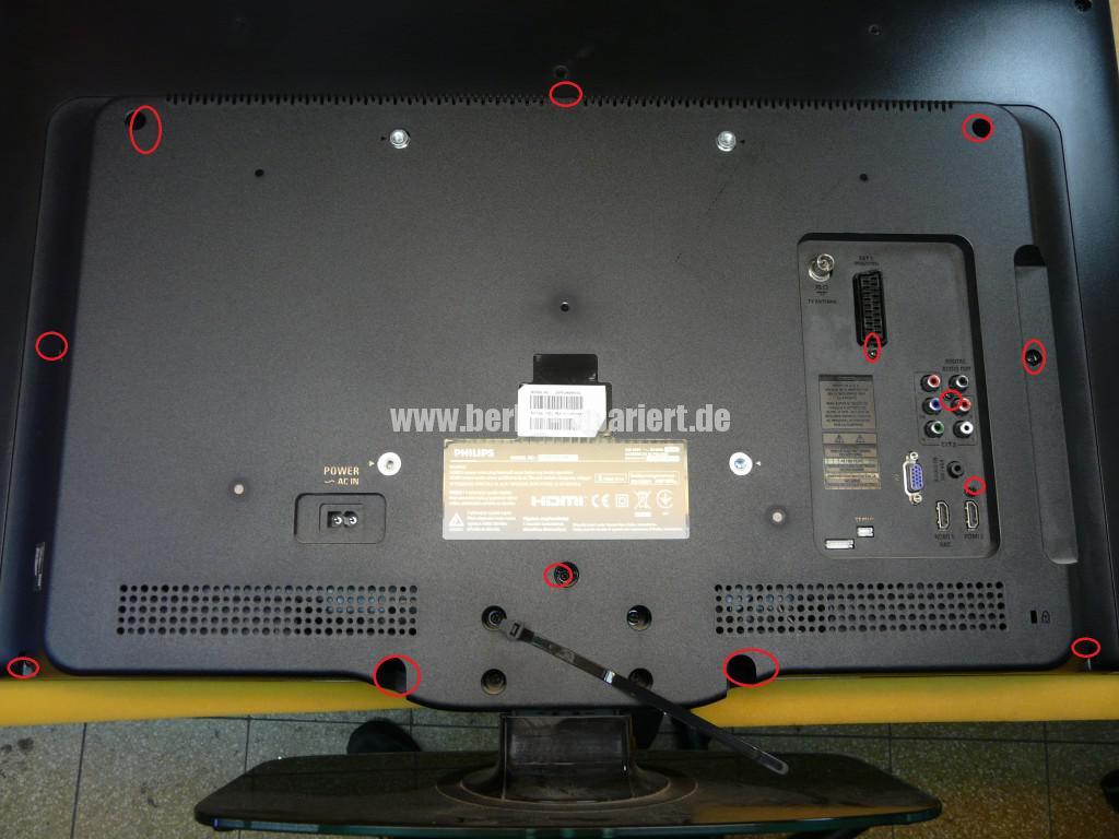 Philips 32PFL4606H, kein Bild, Tuner Defekt (2)