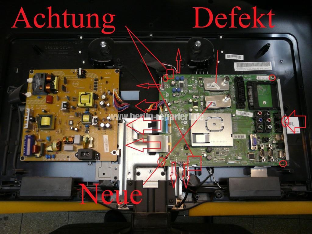 Philips 32PFL4606H, kein Bild, Tuner Defekt (3)