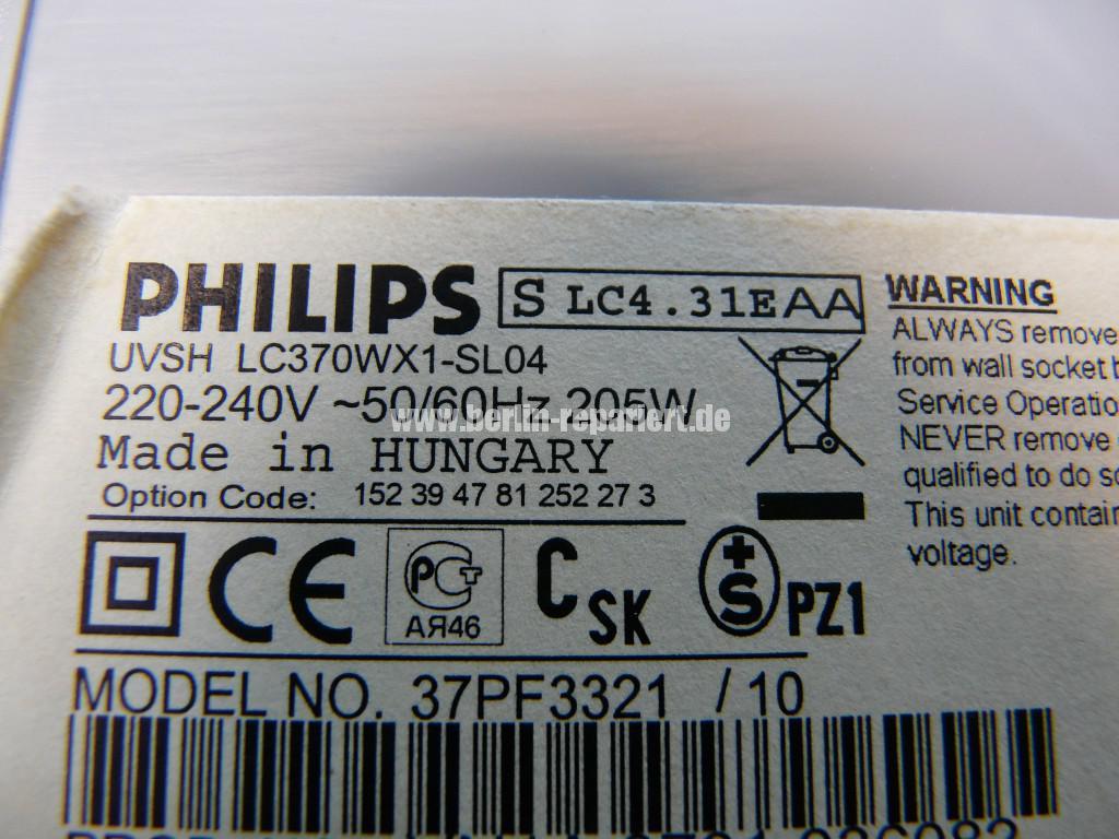 Philips 37PF3321, keine Funktion (7)