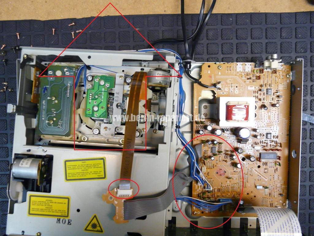 Pioneer PD-DM802, CD Klemmt (3)