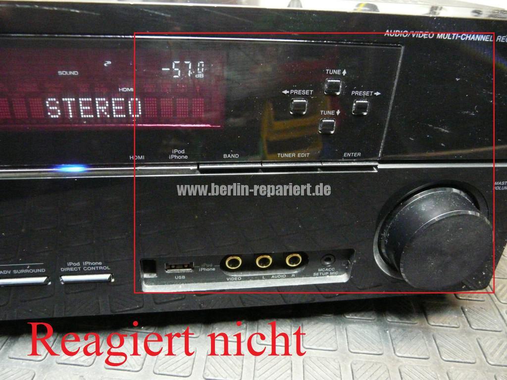 Pioneer VSX-920-K, schlechte Bedienung (2)