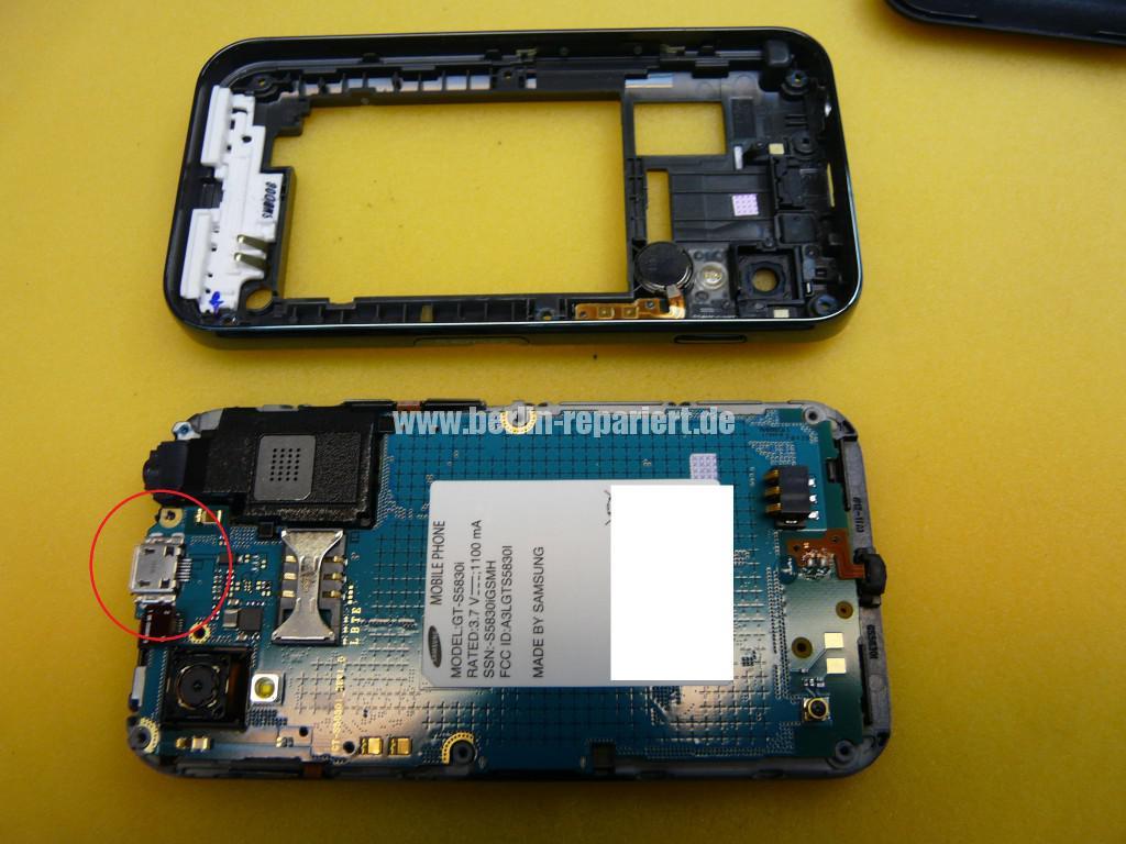 Samsung Galaxy Ace, GT-S5830i, USB sezt aus (4)