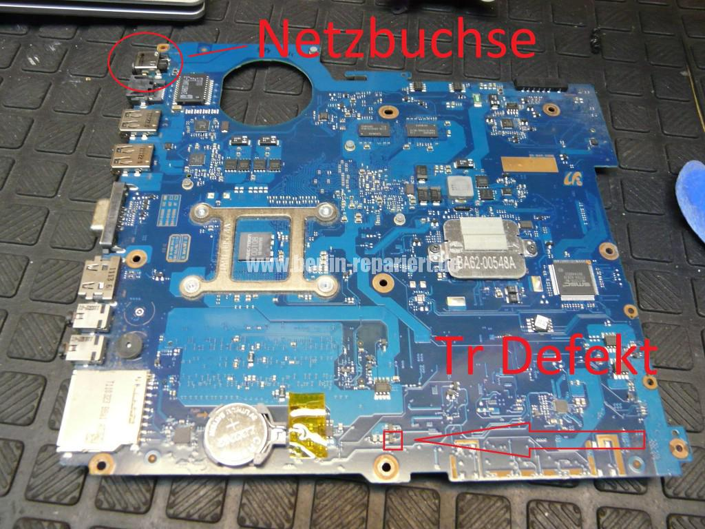 Samsung R520, Netzbuchse Defekt, kein Bild (4)