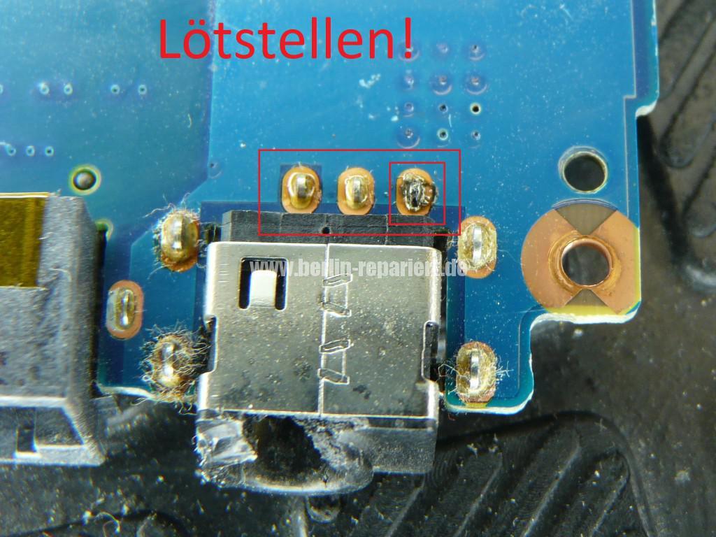Samsung R520, Netzbuchse Defekt, kein Bild (5)