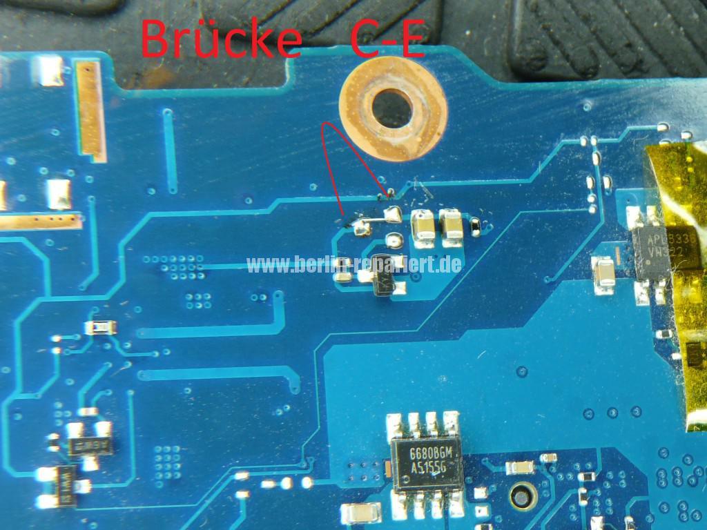 Samsung R520, Netzbuchse Defekt, kein Bild (8)