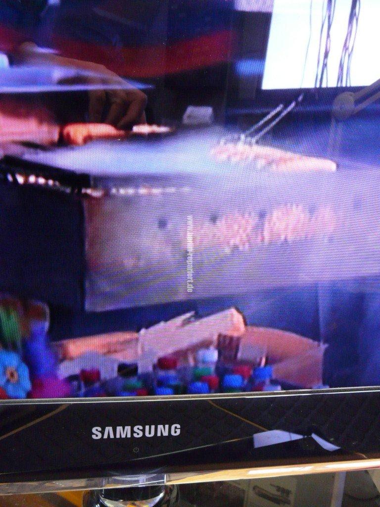 Samsung UE40B7090WP, bunte Steifen in Bild, T Con Modul Defekt(2)