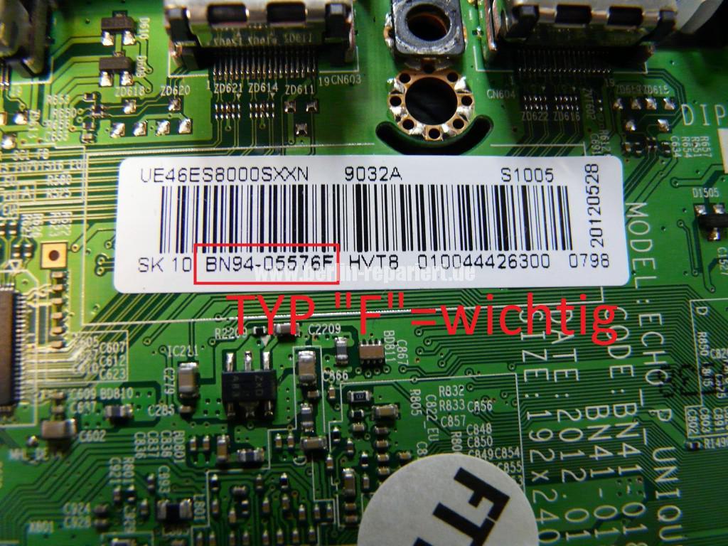 Samsung UE46ES8090S, kein Bild, geht aus (11)