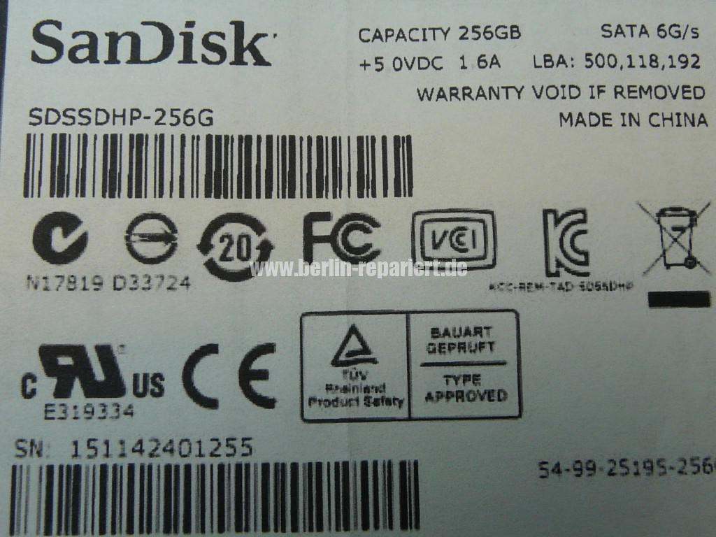 SanDisk UltraPlus, Defekt (6)