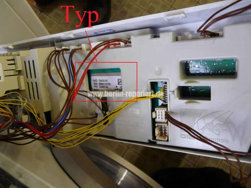 Siemens D12-52, WD12D520, AKO 734032-00, Bedienung ist verstellt (6)