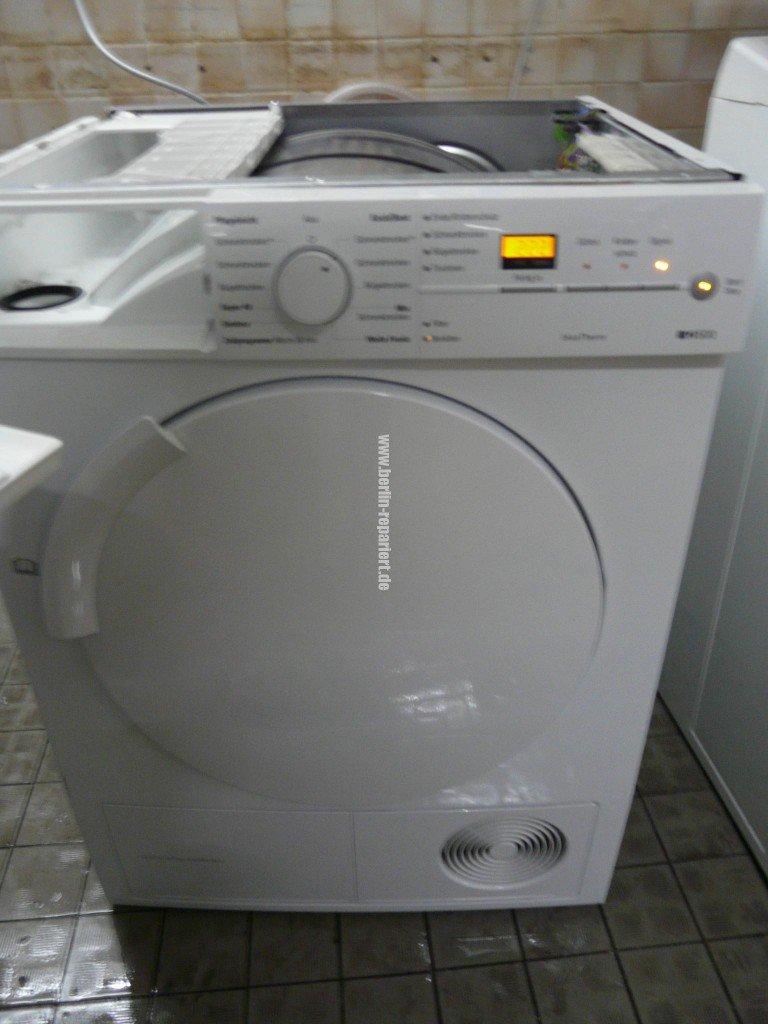 Siemens WT44W360, Verstopft (1)