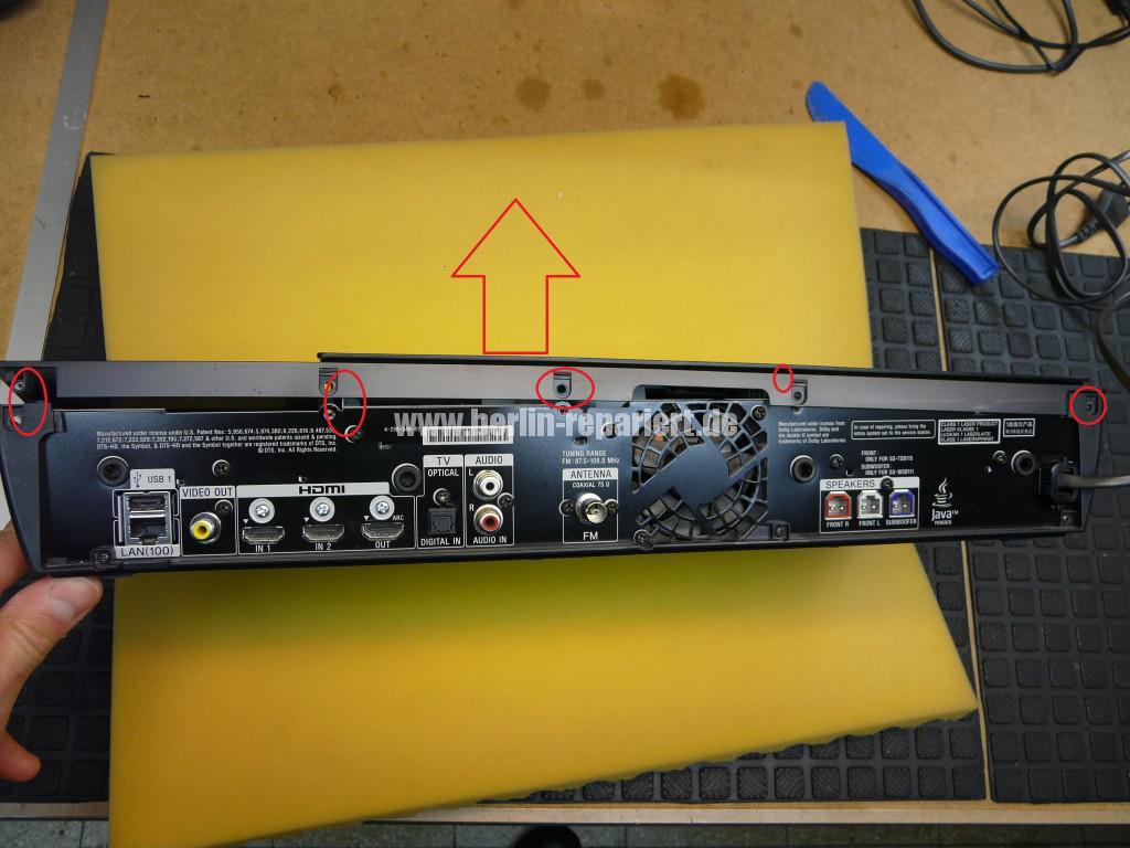 Sony BDV-NF620, DVD Laufwerk nimmt keine CDs mehr an (2)