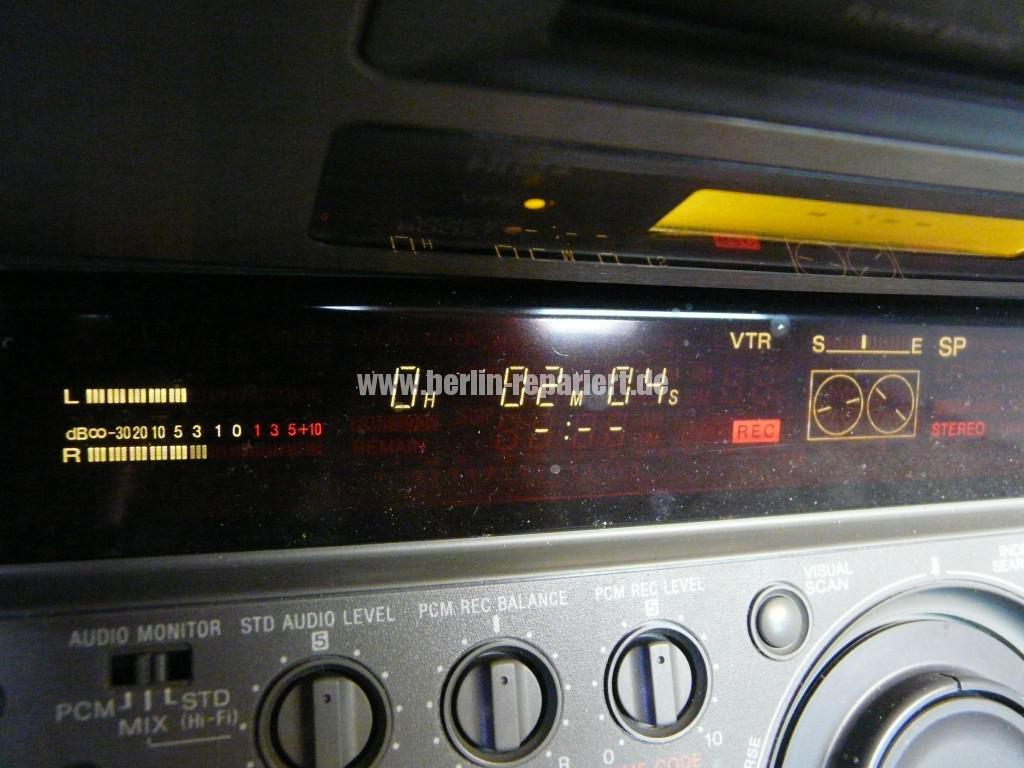 Sony EV-S9000E, Reinigen (10)