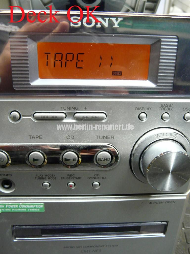 Sony HCD-NE3, Tape Deck Defekt (7)