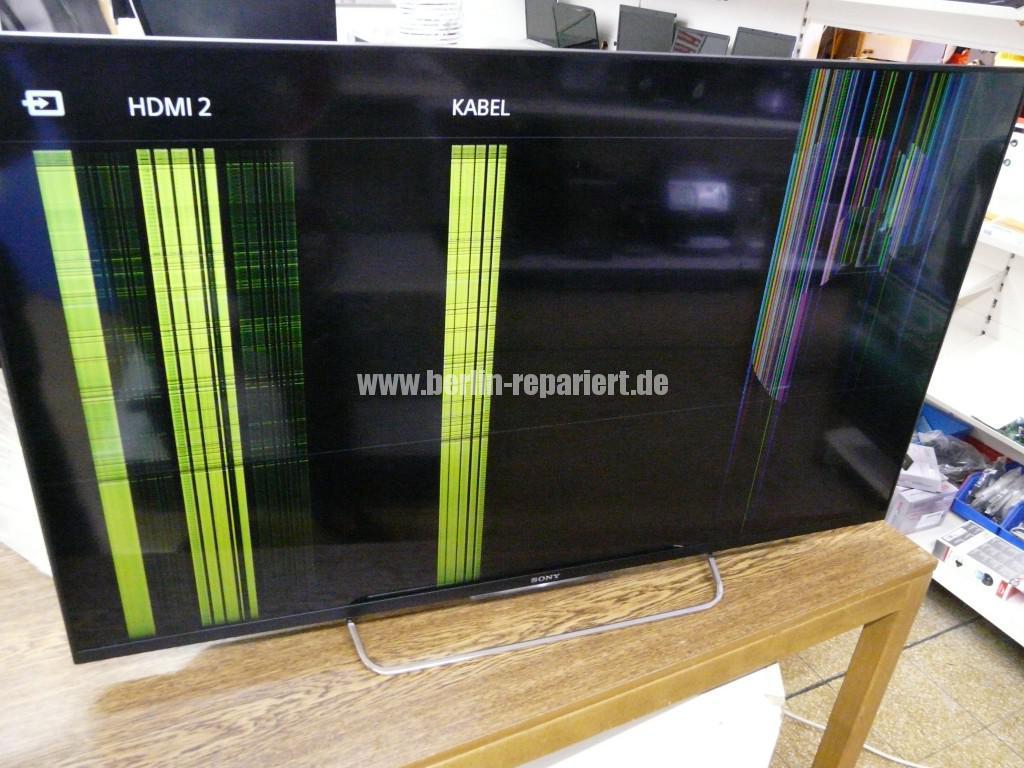 Sony KDL-50W805B, Display Defekt, AU Optronics T500HVF04.0 (1)