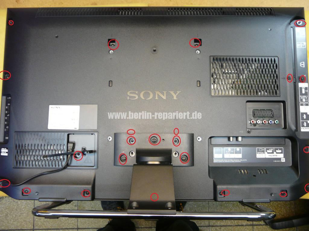 Sony KDL32EX655,geht nicht an LED Blinkt (2)