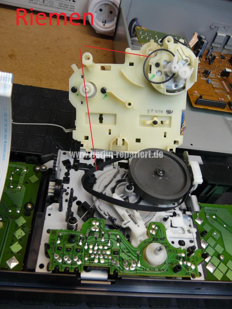 Sony TC-KB820S, Laufwerk Defekt (9)