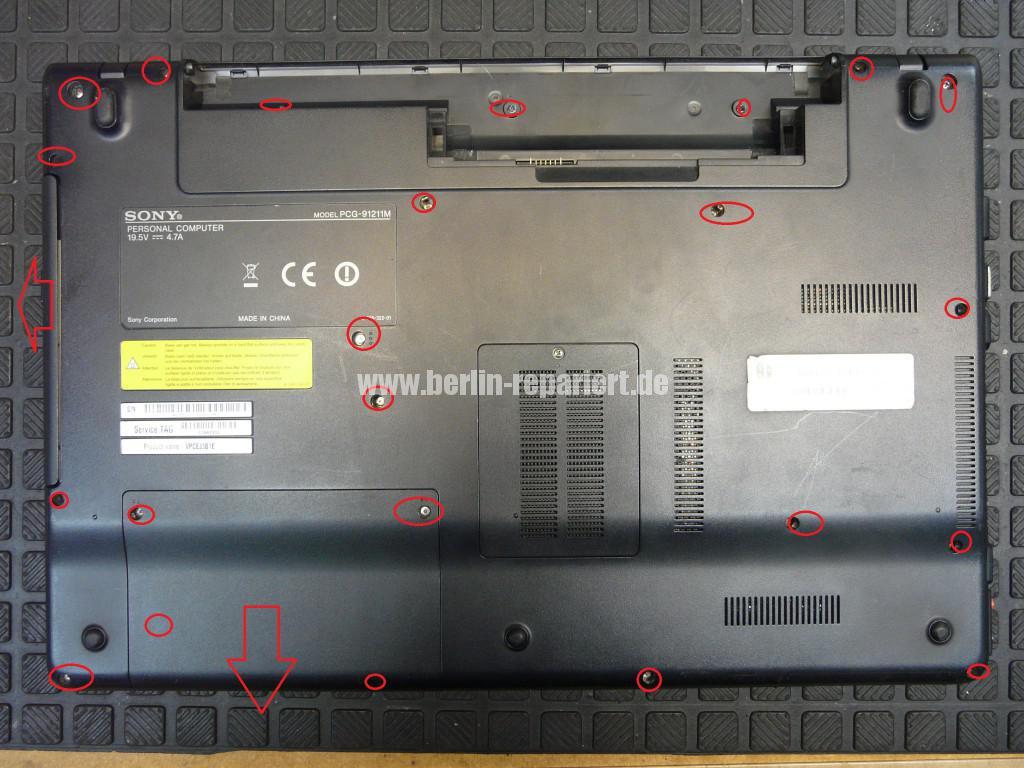 Sony VPCEJ3B1E, keine Funktion, Netzbuchse Defekt (2)