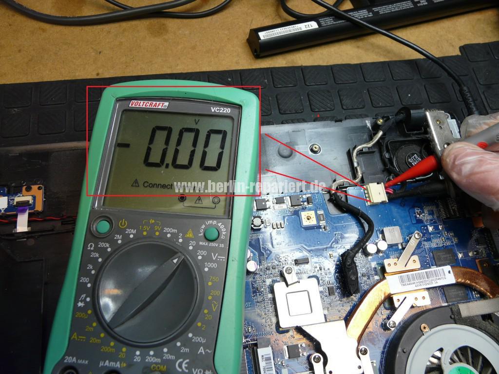 Sony VPCEJ3B1E, keine Funktion, Netzbuchse Defekt (4)