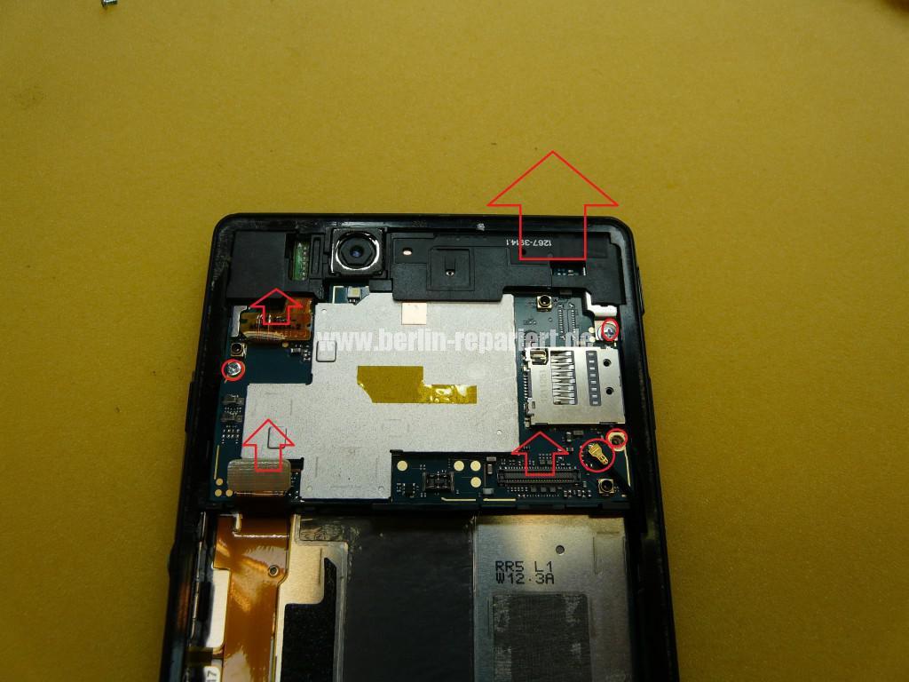 Sony Xperia Z LH36, Kopfhörer Buchse Tauschen (1)