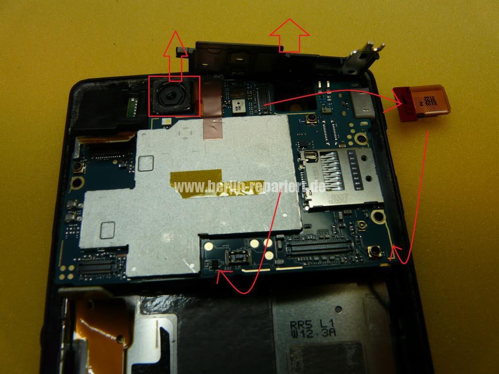 Sony Xperia Z LH36, Kopfhörer Buchse Tauschen (2)