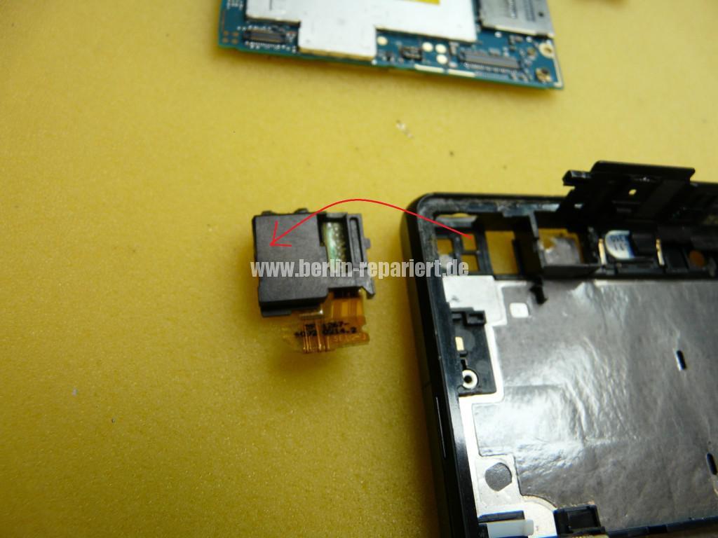 Sony Xperia Z LH36, Kopfhörer Buchse Tauschen (4)
