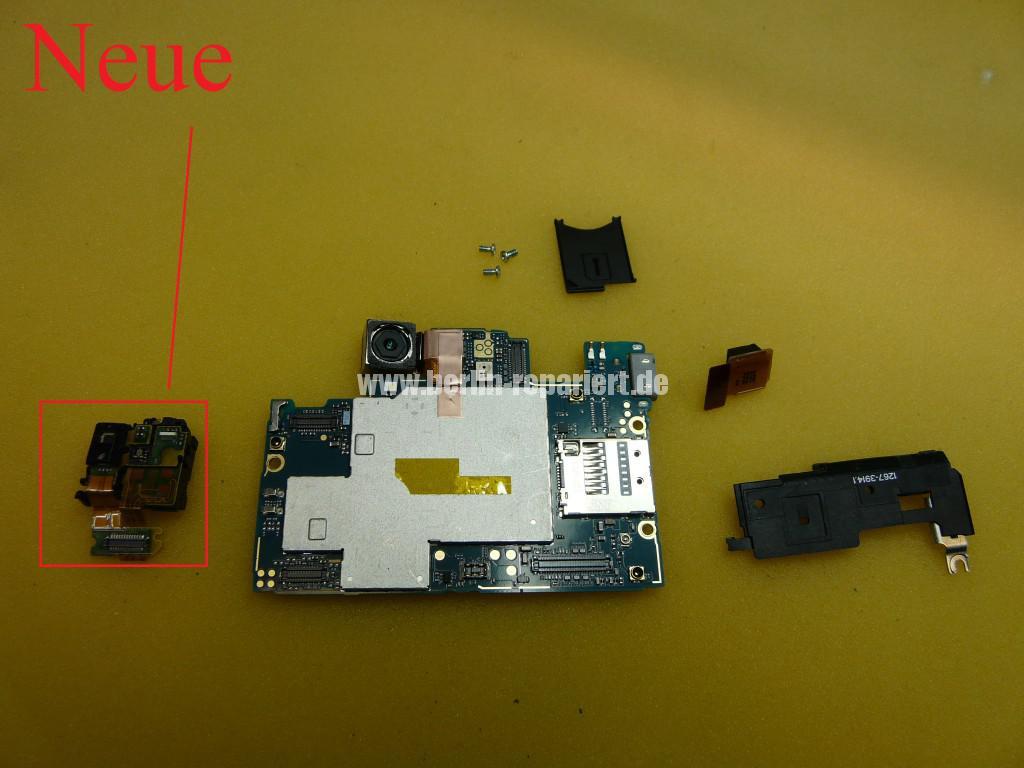 Sony Xperia Z LH36, Kopfhörer Buchse Tauschen (6)