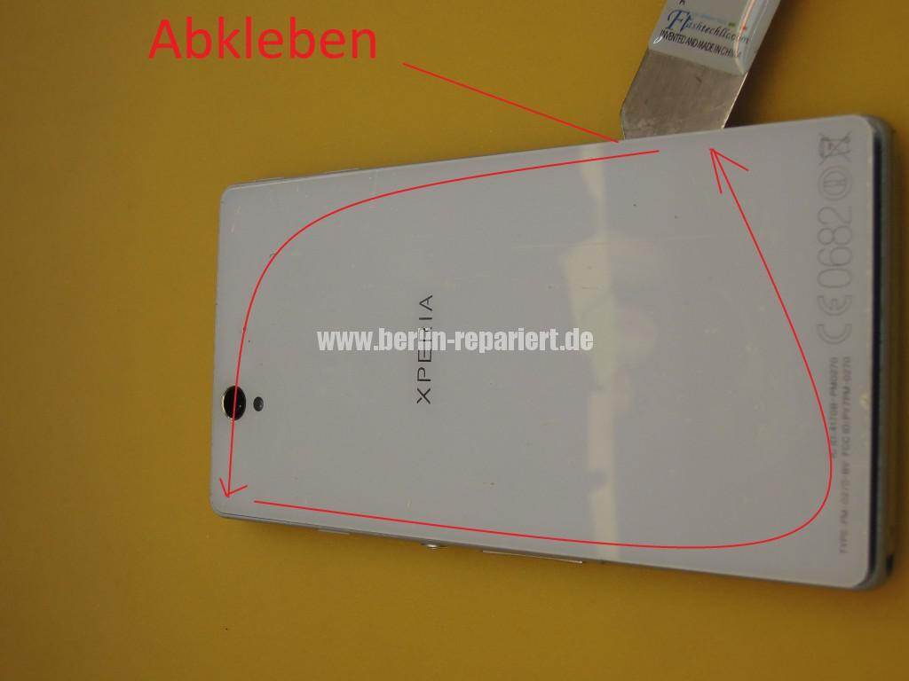 Sony Xperia Z LH36, Kopfhörer Buchse Tauschen (7)
