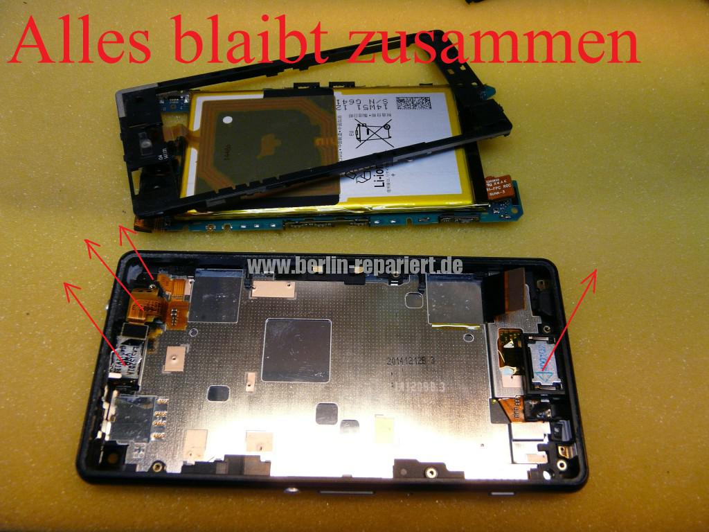 Sony Xperia Z3 CompactD5803, Display tauschen (11)