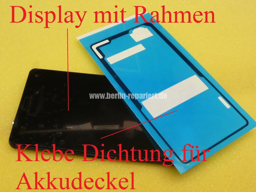 Sony Xperia Z3 CompactD5803, Display tauschen (2)
