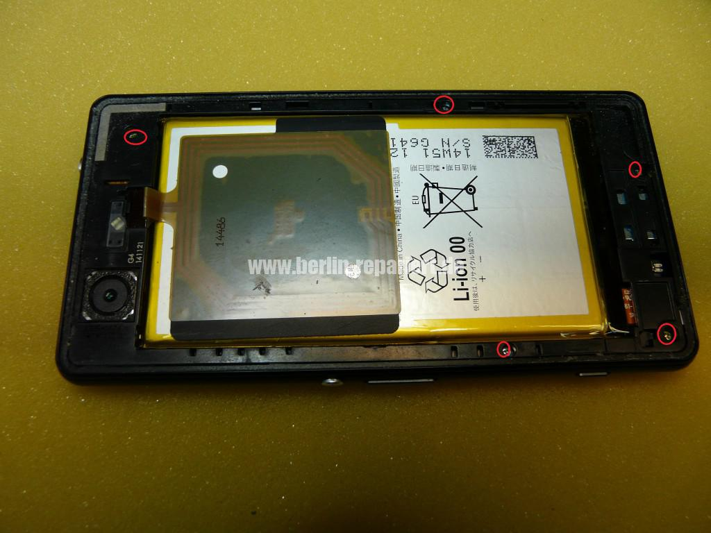 Sony Xperia Z3 CompactD5803, Display tauschen (6)